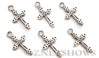 Base Metal Charms <b>21x11mm</b> Antique Silver Tone  per   <b>14-pc-bag</b>