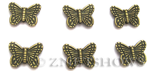 BM Animal Beads <b>14x10mm</b> Antique Brass Tone (12-pc-bag) per   <b>5 Bags</b>