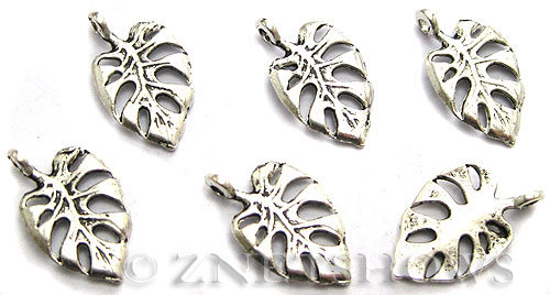 Base Metal Charms <b>20x12mm</b> Antique Silver Tone  per   <b>14-pc-bag</b>
