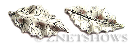 Base Metal Charms <b>47x26mm</b> Antique Silver Tone  per   <b>2-pc-bag</b>