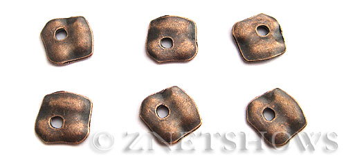 Base Metal Beads <b>25x23mm</b> Antique Copper Tone (7-pc-bag) per   <b>5 Bags</b>