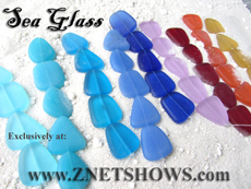 Wholesale Sea Glass Beads
