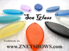 Wholesale Sea Glass Pendants
