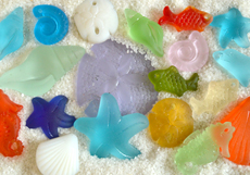 Wholesale Sea Glass Sea Life