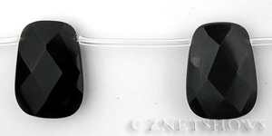 Other Stones & Materials - rainbow obsidian trapezoid Beads <b>25x18mm</b> faceted <b> Discount Beads </b> per   <b>10-pc-str</b>