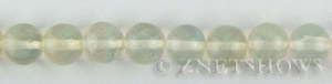 pineapple glass quartz  round Beads <b>10mm</b>     per   <b> 15.5-in-str</b>