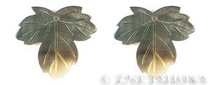 shell - black lip  leaf Pendants <b>About 40x35mm</b>  -hole size 2mm   per   <b>Piece</b>