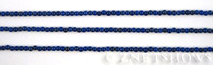 lapis  round Beads <b>2mm</b> blue    per   <b> 15.5-in-str</b>