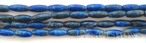 lapis  barrel Beads <b>about 11x5mm</b>     per   <b> 15.5-in-str</b>