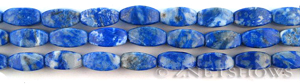 lapis four-sided barrel Beads <b>about 12x6mm</b> more blue    per   <b> 15.5-in-str</b>