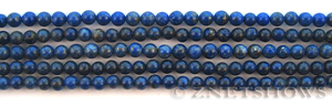 lapis  round Beads <b>About 4mm</b>     per   <b> 15.5-in-str</b>