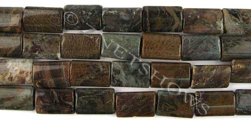 Other stone & material snakeskin agate rectangle pillow Beads <b>15x10mm</b>     per   <b> 15.5-in-str</b>