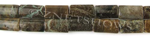Other stone & material snakeskin agate rectangle pillow Beads <b>about 16x8mm</b>     per   <b> 15.5-in-str</b>