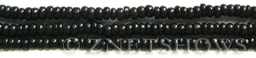 shell dyed black color rondelle Beads <b>about 5x3mm</b>     per   <b> 15.5-in-str</b>