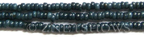 shell dyed periwinkle blue color rondelle Beads <b>about 5x3mm</b>     per   <b> 15.5-in-str</b>