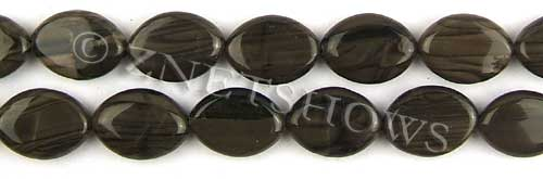 coffee jasper  marquise spindle Beads <b>18x13mm</b>     per   <b> 8-in-str</b>
