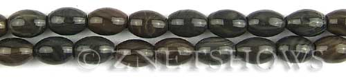 coffee jasper  barrel Beads <b>11x8mm</b>     per   <b> 8-in-str</b>