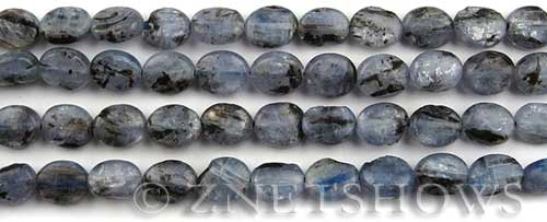 kyanite  oval Beads <b>10x8mm</b>     per   <b> about 8-in-str</b>