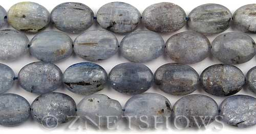 kyanite  oval Beads <b>18x13mm</b>     per   <b> about 8-in-str</b>