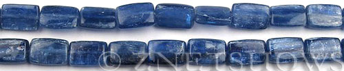 kyanite  rectangle Beads <b>12x8mm</b>     per   <b> 8-in-str</b>