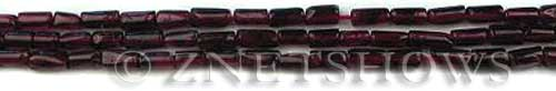 red garnet  tube Beads <b>6mm</b>     per   <b> about 14-in-str</b>