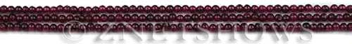 red garnet  round Beads <b>about 2.5mm</b>     per   <b> about 14-in-str</b>