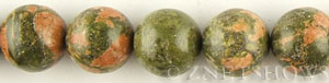Other stone & material unakite round Beads <b>20mm</b>     per   <b> about 8-in-str</b>