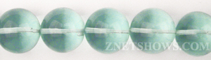 aqua glass quartz  round Beads <b>20mm</b>     per   <b> 1about 8-in-str</b>