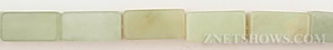 new jade  rectangular prism Beads <b>16x8mm</b>  length-drilled   per   <b> 15.5-in-str</b>