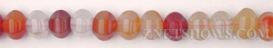 carnelian  pumpkin Beads <b>9mm</b>     per   <b> 15.5-in-str</b>