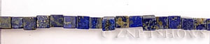 lapis  cube Beads <b>6mm</b>     per   <b> 15.5-in-str</b>