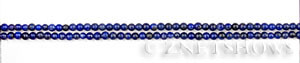lapis  round Beads <b>2.5mm</b>     per   <b> 15.5-in-str</b>