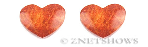 coral sponge coral heart Pendants <b>about 38x28mm</b>     per   <b> Piece</b>