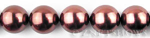south sea shell pearl chocolate color round Beads <b>16mm</b>     per   <b> 16-in-str</b>