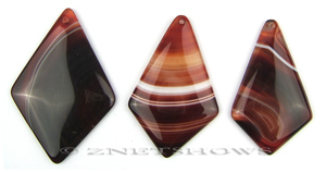 sardonyx  diamond Pendants <b>about 70x50-60x38mm</b>  color enhanced    per   <b>Piece</b>