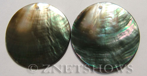 shell - black lip  coin Pendants <b>50mm</b>     per   <b>Piece</b>