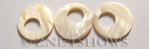 shell - white  donut Pendants <b>28mm</b>     per   <b>Piece</b>