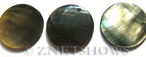 shell - black lip  coin Pendants <b>28mm</b>     per   <b>Piece</b>