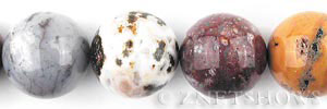 ocean jasper  round Beads <b>20mm</b>     per   <b> about 8-in-str</b>