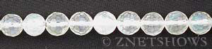 pineapple glass quartz faceted round Beads <b>10mm</b>     per   <b> 15.5-in-str</b>