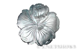 shell - black lip  flower Pendants <b>about 70mm</b> carved Saw Edge carved flower   per   <b>Piece</b>