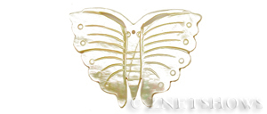 shell - golden lip  butterfly Pendants <b>54x40mm</b>  -carved-Style 2 (right side image  shows)   per   <b>Piece</b>
