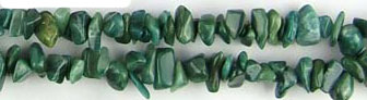 Other stone & material african jade chips Beads <b>about 8x5mm</b>     per   <b> 36-in-str</b>