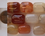 carnelian natural color nugget Beads <b>18x13mm</b>   per   <b>15.5-in-str</b>