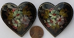Other Stones & materials -  lacquer heart Pendants <b>About 46mm</b>  Heart Pin - Style H09   per   <b>Piece</b>