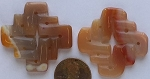 carnelian   Pendants <b>Anout 25mm</b>  Celtic Knot   per   <b>Piece</b>