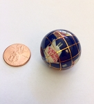 Globe Bead Lapis Blue color round bead <b>25mm</b> per piece