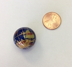Globe Bead Lapis Blue color round bead <b> 20mm </b> per piece