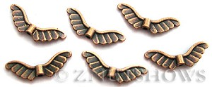 BM Animal Beads <b>19x8mm</b> Antique Copper Tone (10-pc-bag) per   <b>5 bags</b>