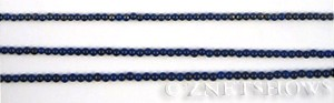 lapis  round Beads <b>2mm</b> dark blue    per   <b> 15.5-in-str</b>